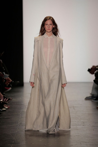Lindsey Trueman - NY Fashion Week Spring 2017 - Runway 28