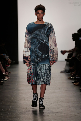 Ben Ellis - NY Fashion Week Spring 2017 - Runway 31