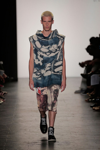 Ben Ellis - NY Fashion Week Spring 2017 - Runway 33