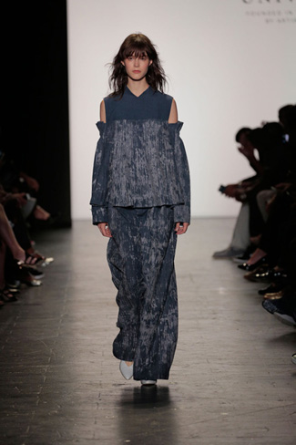 Dora Li & Carly Dean - NY Fashion Week Spring 2017 - Runway 44