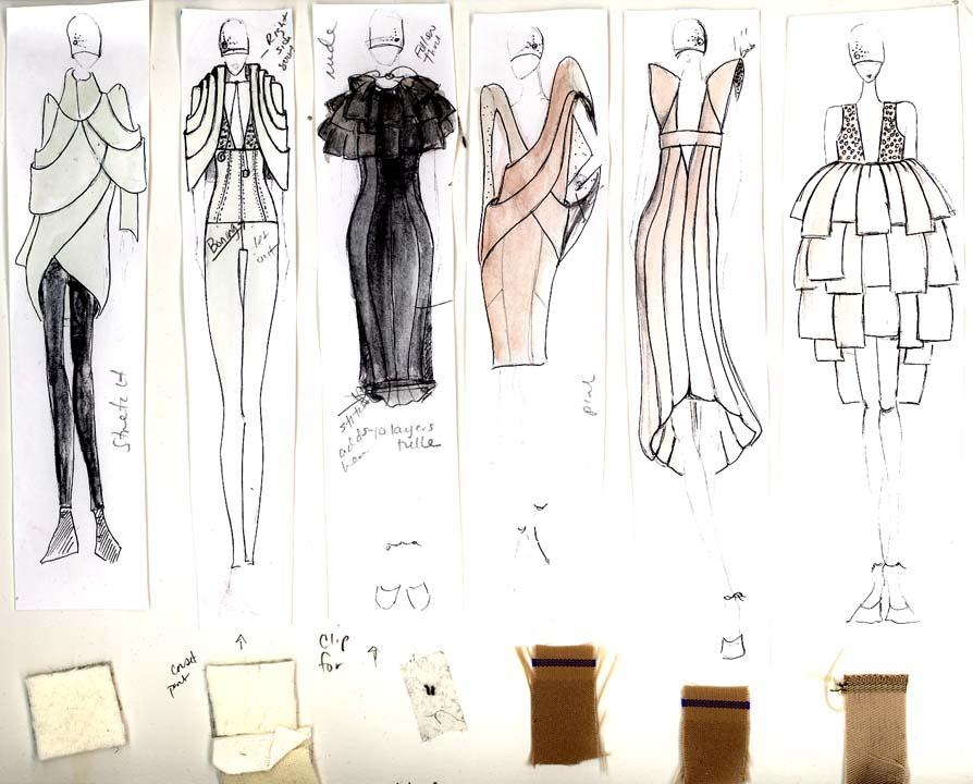 February 08 New York Fashion Week Sherise Eways Fashion
