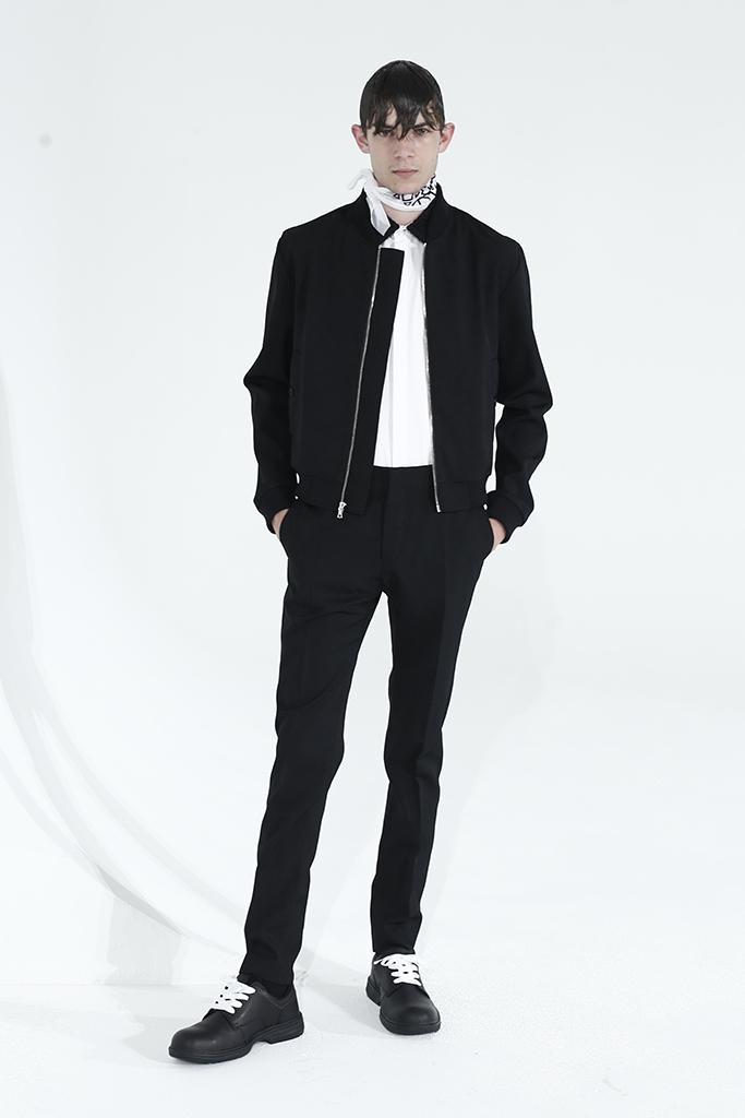 Kenneth Ning Men's RTW Spring 2016; Image via WWD.com