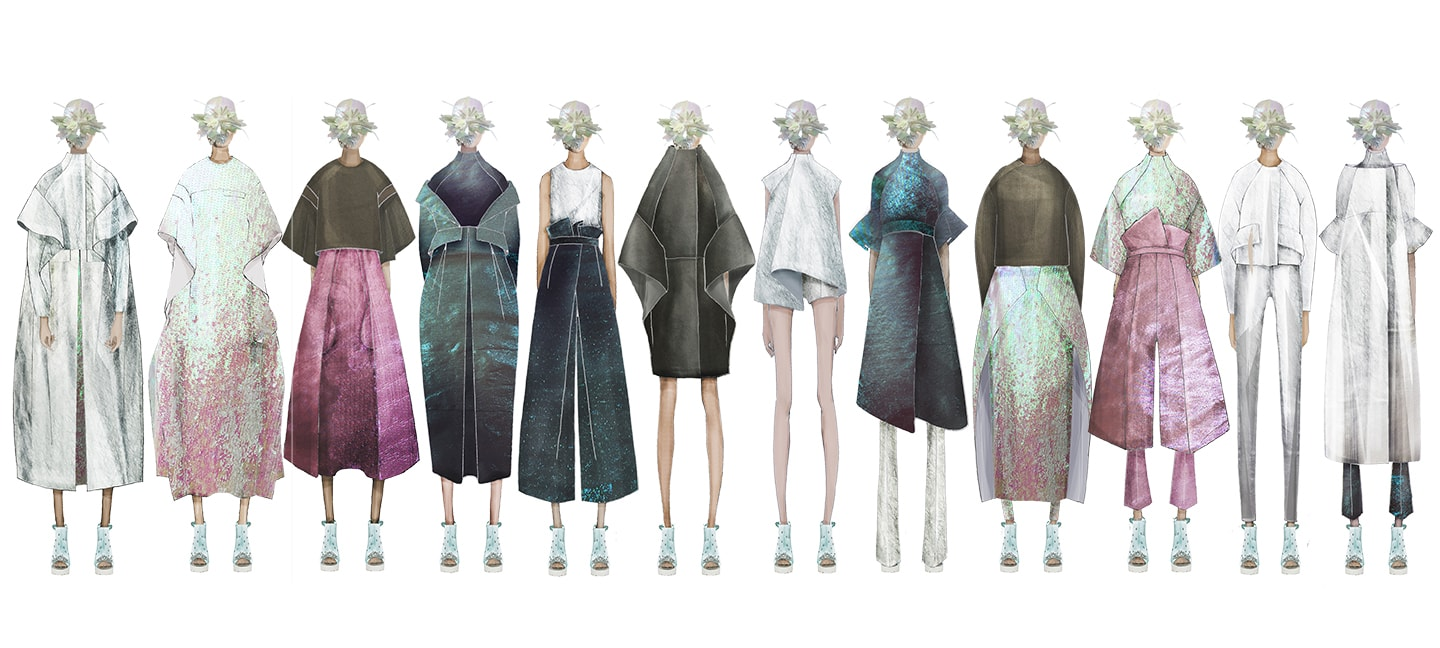 Illustrated lineup by Max Lu and Jingci Jessie Wang