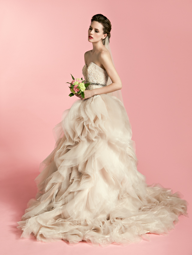 A wedding dress by Madore by Veejay Floresca. Photo courtesy of Madore by Veejay Floresca.
