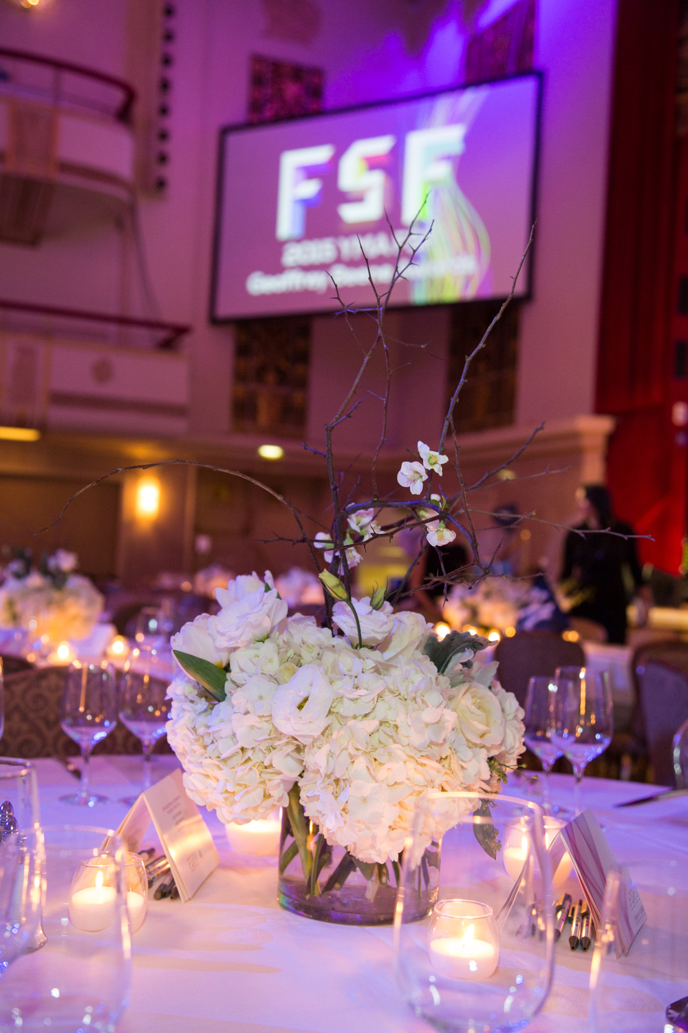 A view of the YMA FSF Gala.