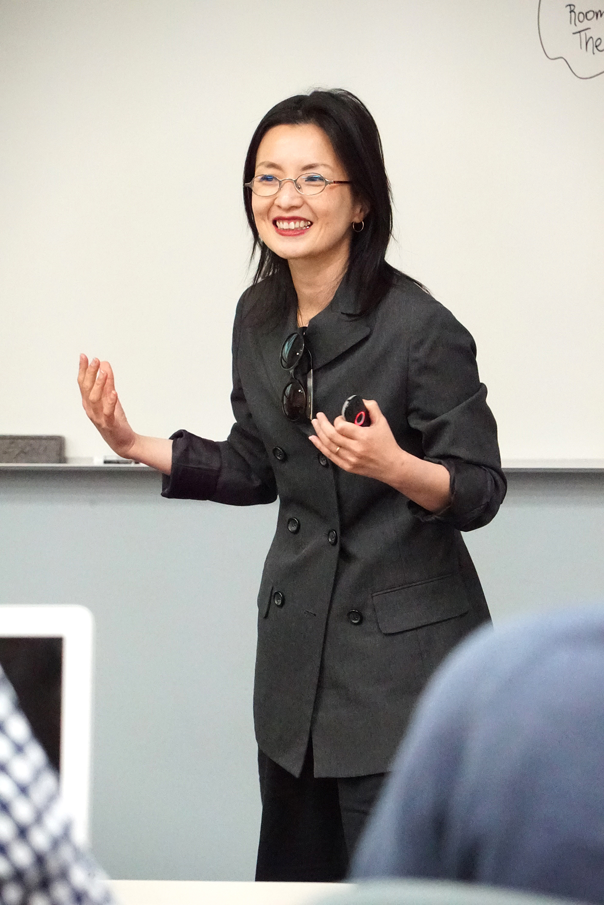 Director of Fashion Merchandising, Jinah Oh/ Photo courtesy of Bob Toy