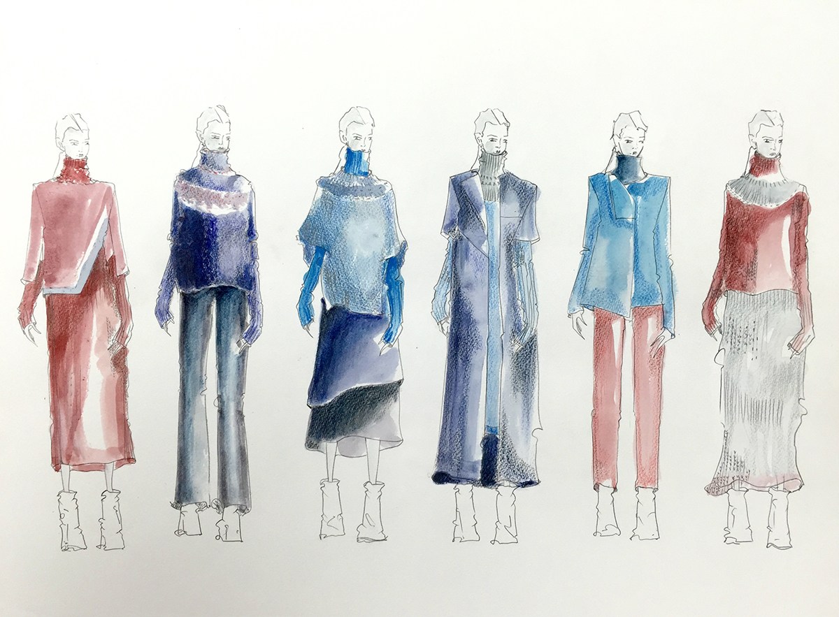 Illustrated lineup courtesy of Rebecca Dovenryd Almberg
