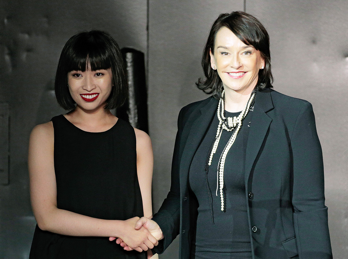 Wei Wang and Elisa Stephens