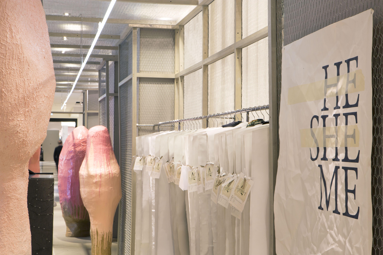 Agender by Studio Toogood at Selfridges. Image via theretailplanner.com