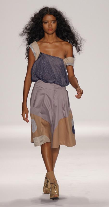 New York Fashion Week September 2008 Johanna Hatzenbuehler, Womenswear Designer