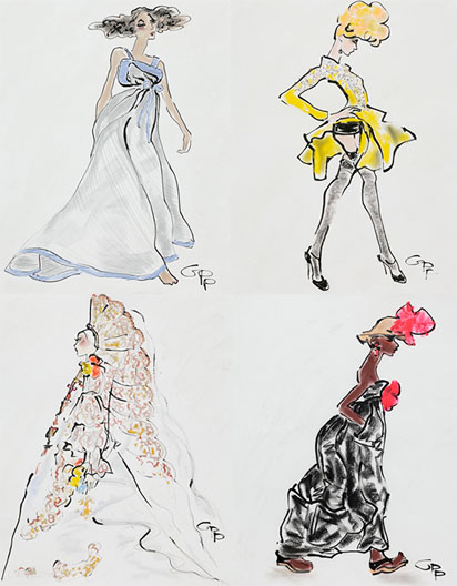 Gladys Perint Palmer takes us to the Paris couture shows