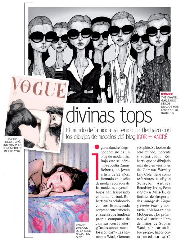 'Vogue' loves Danny Roberts