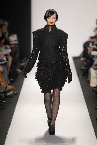 Mercedes-Benz Fashion Week Fall 2010 Runway photos: Sabah Mansoor Husain