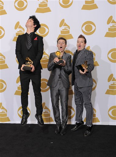 APTOPIX Grammy Awards Press Room