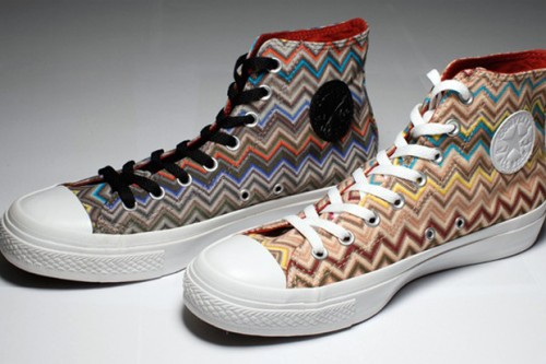 Converse is Seeing Missoni Zig-Zags