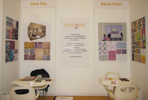 Kenzi Klein and Jana Yee Impress at the Surtex Competition