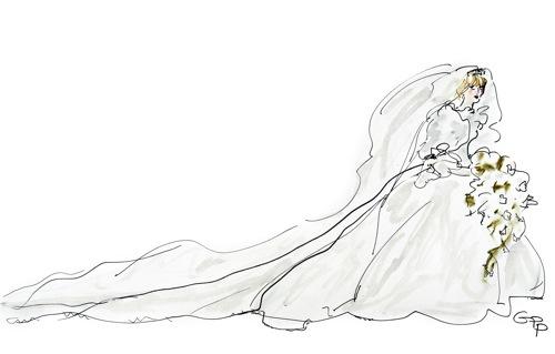 british royal wedding gowns. The British royal wedding,