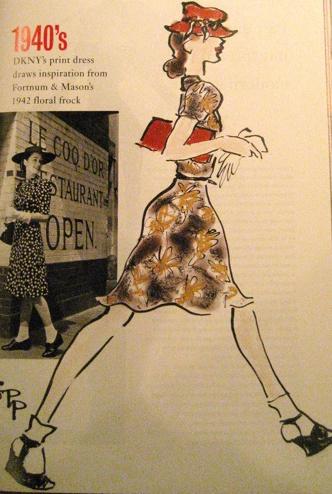 Donna Karan to the 1940s