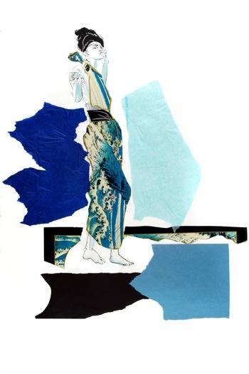 Tonii Delapaz - Drawing by Carol A. Nunnelly