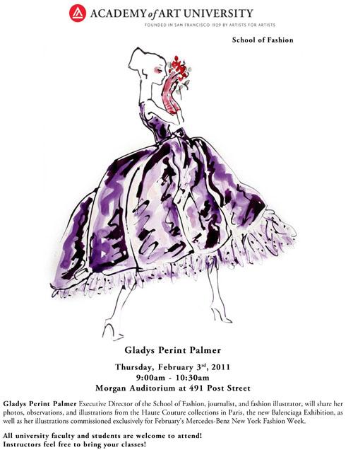 Gladys Perint Palmer Presents Paris Haute Couture
