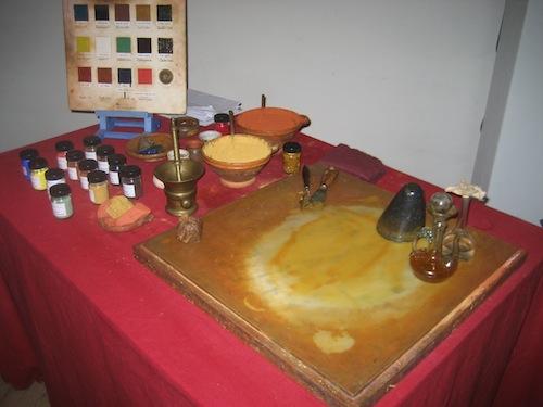 Rembrandt's colours