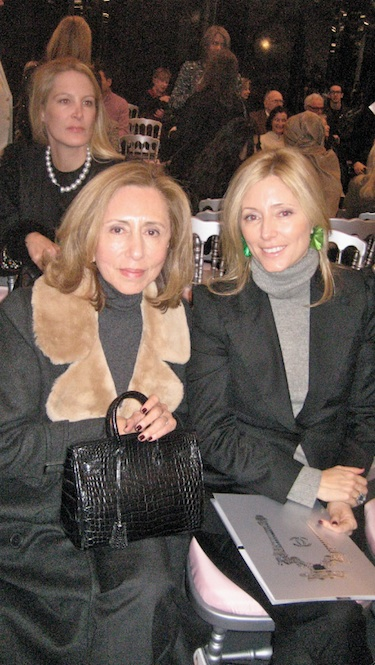 Princess Marie Chantal of Greece with her mother Chantal Miller