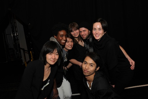 (Clockwise from bottom left) Minha, Stephanie, Hurst, Aura, Jonathan, Holly and Dejchat