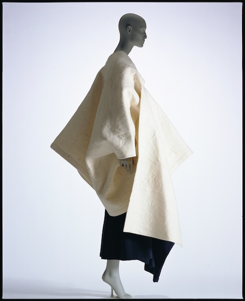 "A piece for Comme des Garçons by Rei Kawakubo recently shown at ""Future Beauty: 30 Years of Japanese Fashion"" at the Barbican Art Gallery in London"