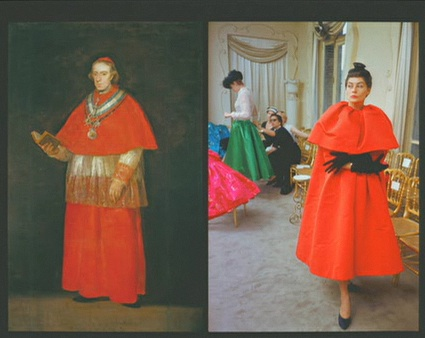 Balenciaga's work compared to Spanish works of art