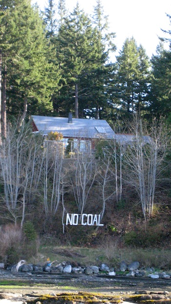 NO COAL is not a plea but a protest against a coalmine