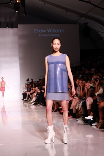 A look by Drew Williams. Photo credit: Fashionist