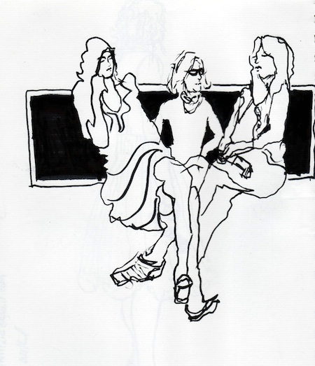 Illustrating Gladys Perint Palmer, Nathalie Rykiel and Cathy Horyn