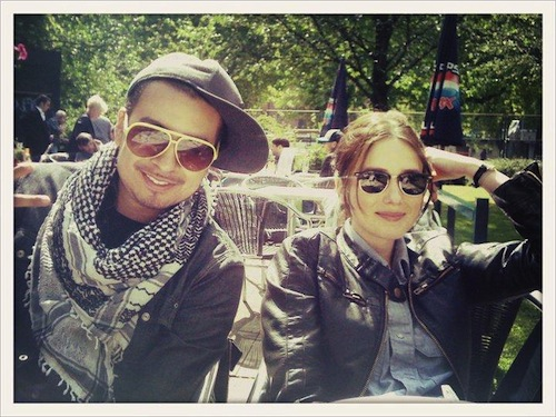 Ronnie and Alice in Amsterdam