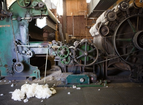 Yolo Wool Mill. Photo credit: Paige Green.