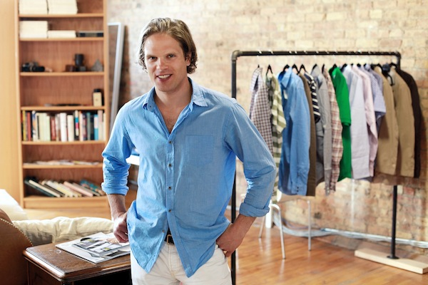 Brian Spaly of Trunk Club (Photo credit: Sally Ryan/New York Times)
