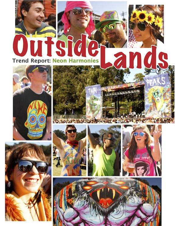 Outside Lands 2011 Trend Report: Neon Harmonies