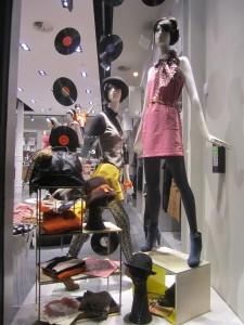 Women's Window Display at H&M