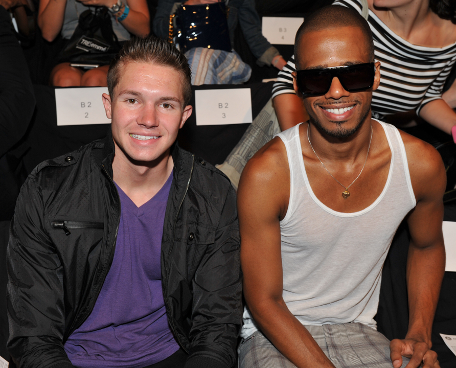 Singer/Producer Bobble Head (a.k.a. Hunter Brown) and actor Eric West