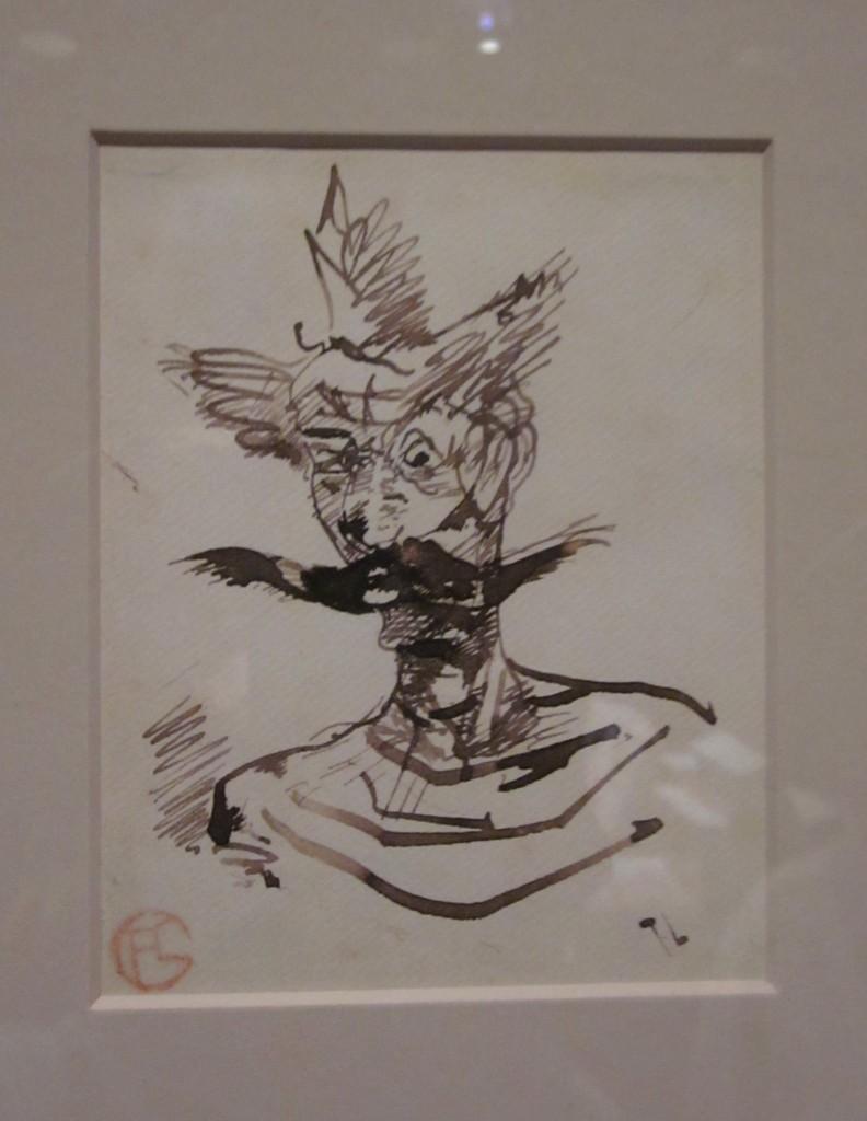 Henri de Toulouse-Lautrec (1864 - 1901) The Clown: M. Joret.