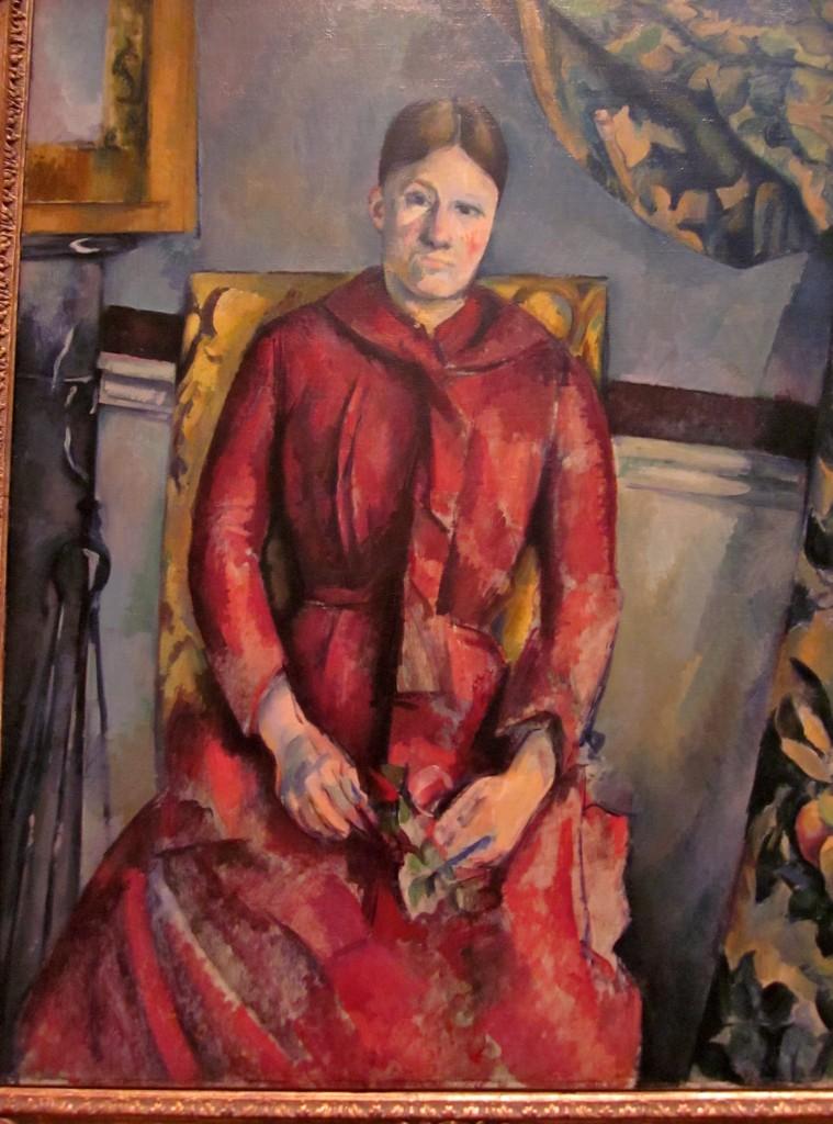 Paul Cézanne ( 1839 - 1906) Madame Cézanne