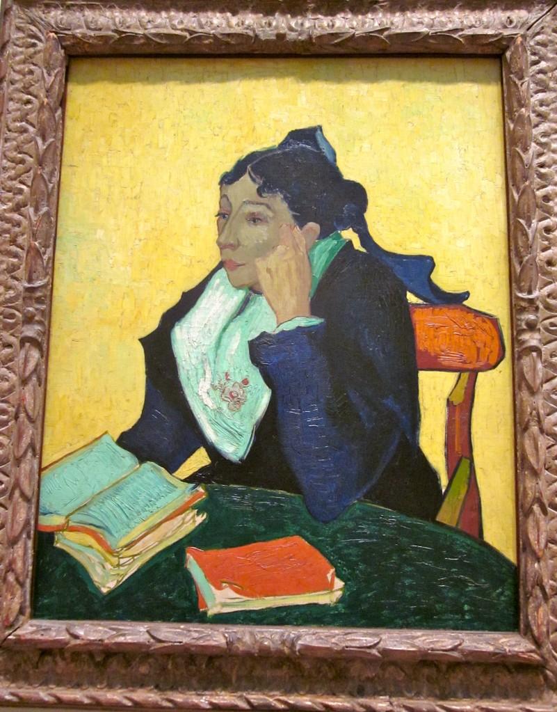 Vincent van Gogh (1853 - 1890) L'Arlésienne, Madame Joseph-Michel Ginoux.