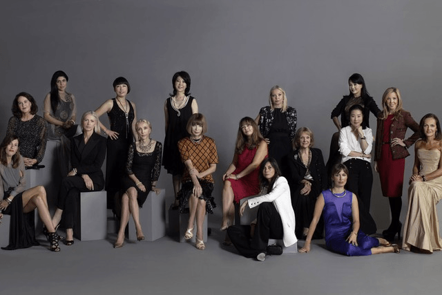 Picture of Vogue editors in Tokyo November 2011