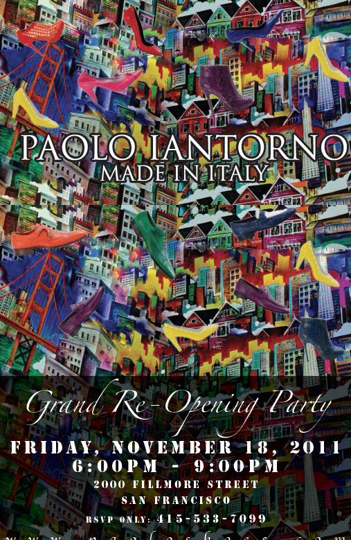Why don't you… Support Your Classmates & Go to the Grand Re-Opening Party at Paolo Iantorno!