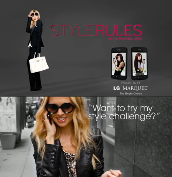 Contest Style Rules With Rachel Zoe Fashion School Daily School Of Fashion Blog At Academy