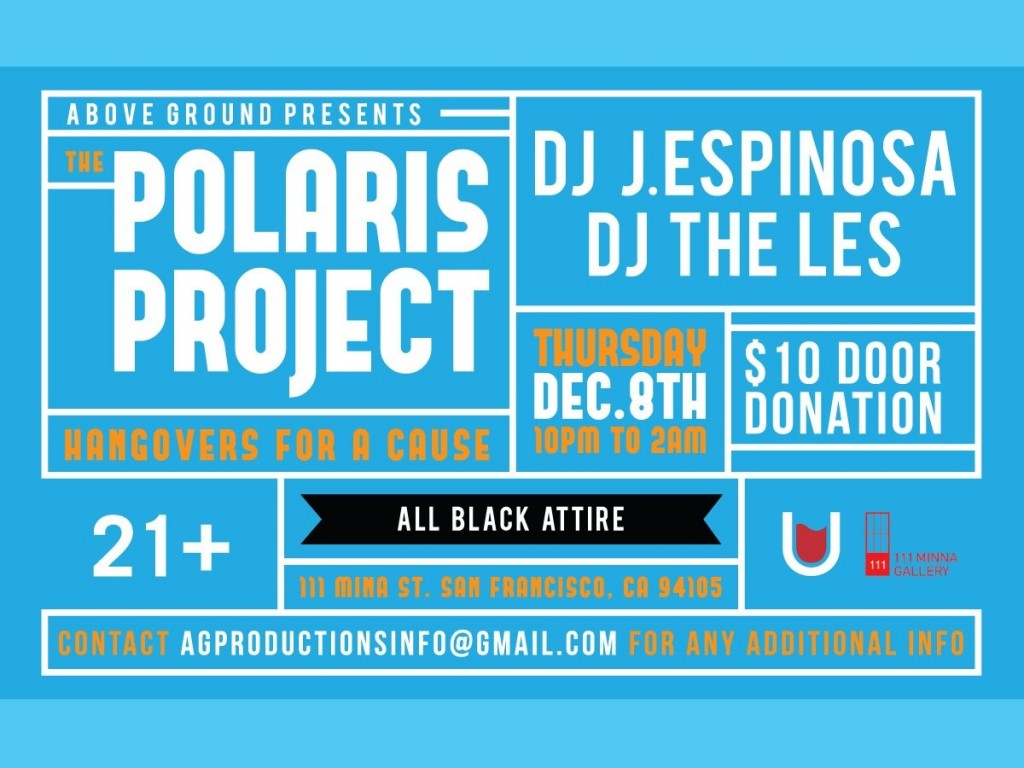 SF Events: Come Support the The Polaris Project! - Fashion School ...