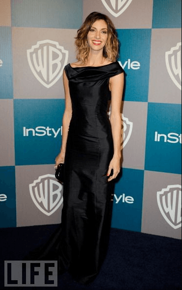 Sara Shepherd's Dress Worn by Dawn Olivieri to Golden Globes Party