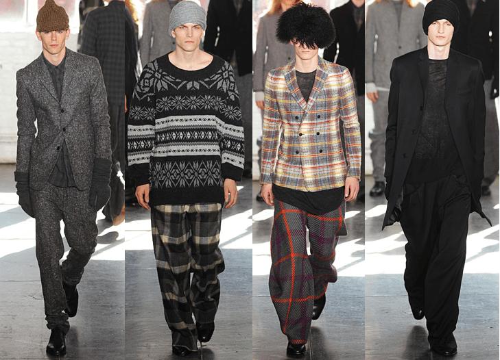 Mercedes-Benz Fashion Week Fall '12: Duckie Brown
