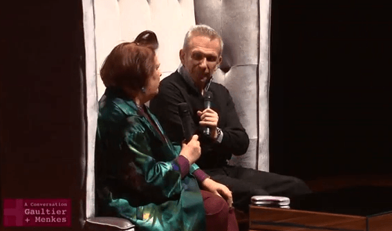 Now You Can Watch A Conversation with Jean Paul Gaultier and Suzy Menkes