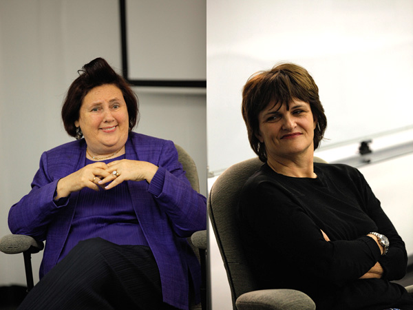 Cathy Horyn and Suzy Menkes on Fashion, Journalism, and the Importance of Reporting