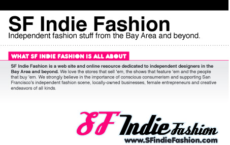 SF Indie Fashion is Looking for a Fall Intern!
